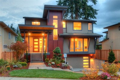 Kirkland Single Family Home For Sale: 13109 NE 101st Pl (L-7)
