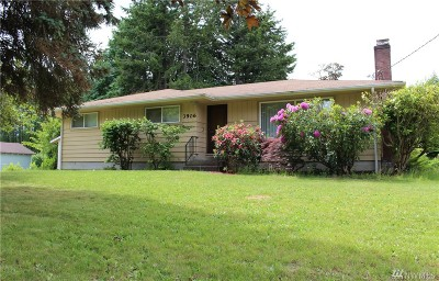 Port Orchard Single Family Home For Sale: 3906 Harris Rd SE