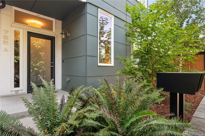 King County Single Family Home For Sale: 725 17th Ave #A
