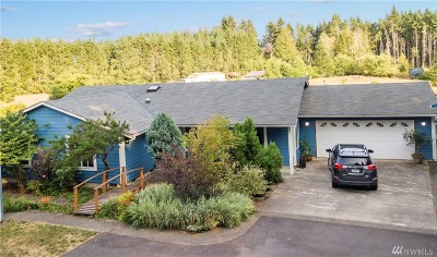 Single Family Home For Sale: 7910 Steamboat Island Rd NW