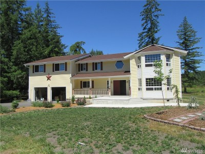 Chehalis Single Family Home For Sale: 1278 North Fork Rd