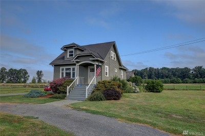 Mount Vernon Single Family Home Sold: 18065 Skagit City Rd