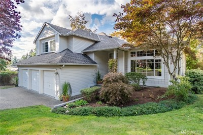 Kenmore Single Family Home For Sale: 8120 NE 158th Place
