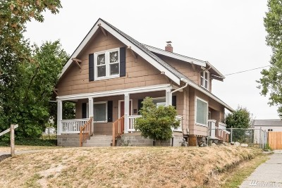 Single Family Home For Sale: 5409 S I St