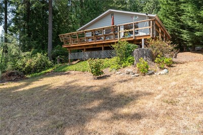 Shelton Single Family Home For Sale: 51 E Scenic View Dr