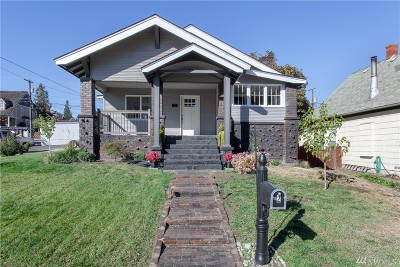 Wenatchee Single Family Home For Sale: 2 N Delaware Ave