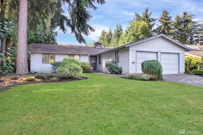 Renton Single Family Home For Sale: 10935 SE 183rd Ct