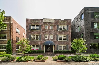 King County Condo/Townhouse For Sale: 214 16th Ave E #102
