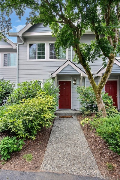 Kirkland Condo/Townhouse For Sale: 13005 102nd Lane NE #3
