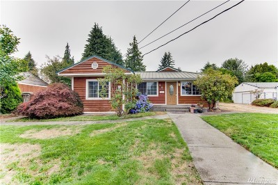 Tacoma Single Family Home For Sale: 2634 N Bennett St
