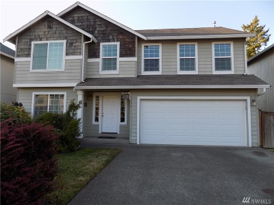 Spanaway Single Family Home For Sale: 1331 181st St Ct E