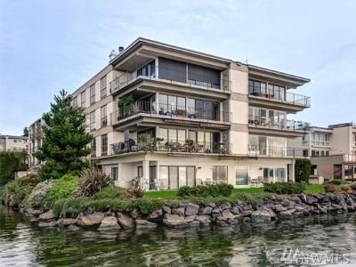 Kirkland Condo/Townhouse For Sale: 6401 Lake Washington Blvd NE #302