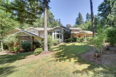 Woodinville Single Family Home For Sale: 21714 NE 159th St
