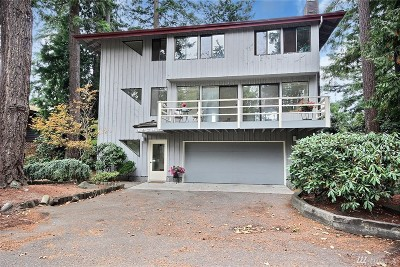 Shoreline Single Family Home For Sale: 19517 21st Place NW