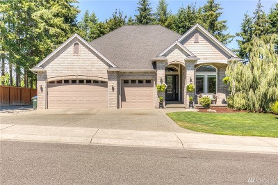Puyallup Single Family Home For Sale: 8003 113th St Ct E