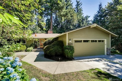 Single Family Home For Sale: 2406 171st Ave SE