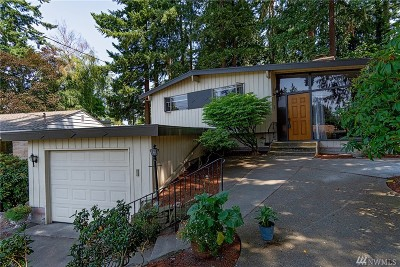 Shoreline Single Family Home Contingent: 207 NW 196th Place