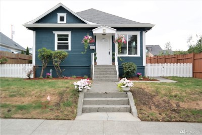 Tacoma Single Family Home For Sale: 3309 S 7th St