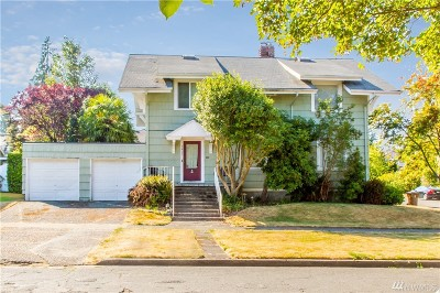 Tacoma Single Family Home For Sale: 1401 N 6th St