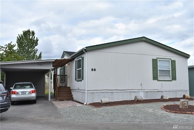Skagit County Mobile Home For Sale: 2600 E Division St #88