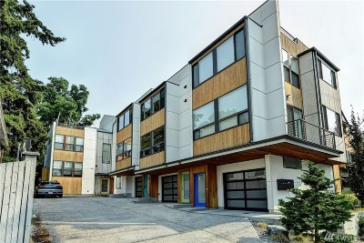 Seattle Single Family Home For Sale: 114 N 39th St