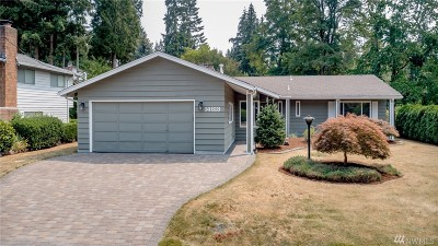 Bellevue WA Single Family Home For Sale: $858,000
