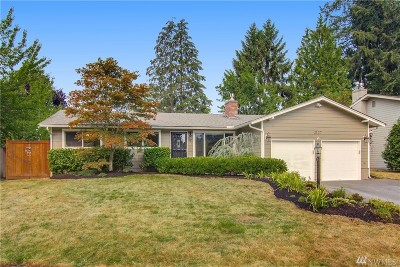 Bellevue Single Family Home For Sale: 2127 166th Place NE