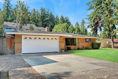 Renton Single Family Home For Sale: 11219 SE 186th St