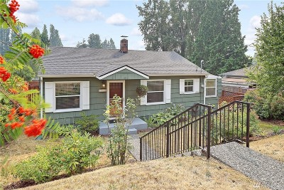 Shoreline Single Family Home For Sale: 15328 25th Ave NE