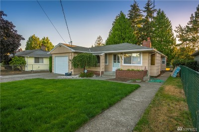 Tacoma Single Family Home For Sale: 6818 S L St