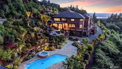 Bellevue WA Single Family Home For Sale: $6,688,000