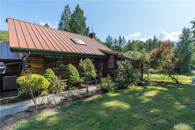 Sedro Woolley Single Family Home For Sale: 32248 S Lyman Ferry Rd