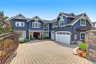 Lake Forest Park Single Family Home For Sale: 16550 Shore Dr NE