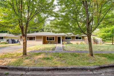 Snohomish Single Family Home For Sale: 23016 Echo Lake Rd