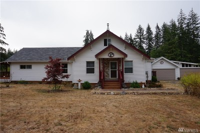 McCleary Single Family Home For Sale: 802 Elma McCleary Rd