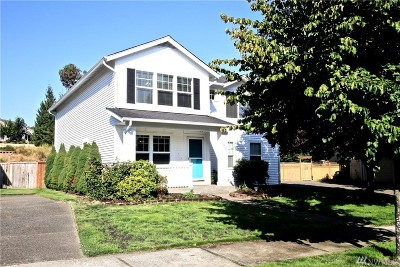 Dupont Single Family Home For Sale: 1931 Cox Ave