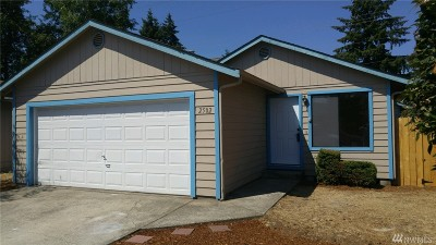 Tumwater Single Family Home For Sale: 2502 Silver Lane SW