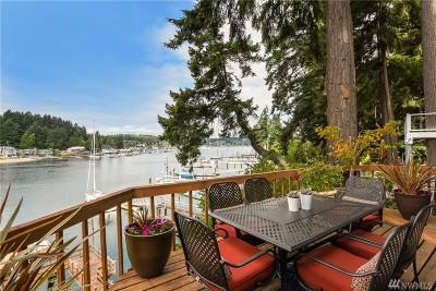 Gig Harbor Single Family Home For Sale: 7610 Goodman Dr NW
