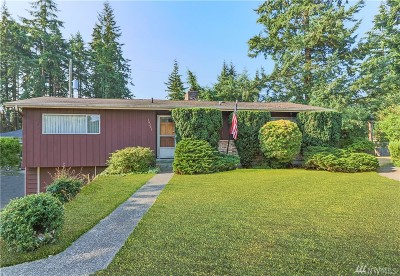 Shoreline Single Family Home For Sale: 16203 Bagley Place N