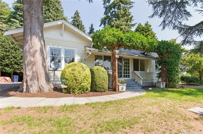 Seattle Single Family Home For Sale: 7842 S 134th St