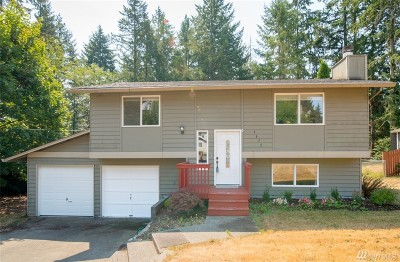 Gig Harbor Single Family Home For Sale: 9610 137th St NW