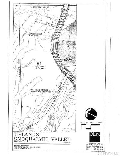 North Bend Residential Lots & Land For Sale: 16 16xxx Reserve Dr SE