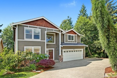 Bothell Single Family Home For Sale: 3733 160th Place SE