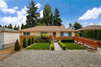 Burien Single Family Home For Sale: 13104 12th Ave S