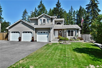 Spanaway Single Family Home For Sale: 3307 240th St Ct E