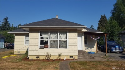 Winlock Single Family Home For Sale: 917 SE 1st St