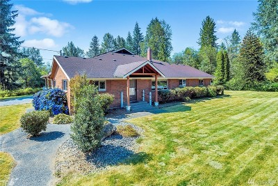 Snohomish Single Family Home For Sale: 21318 116th St SE