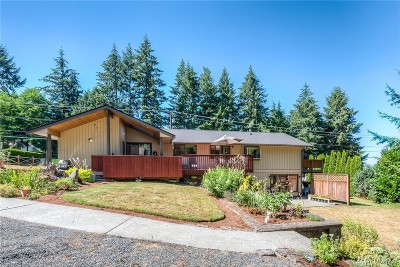 Snohomish Single Family Home For Sale: 12909 Seattle Hill Rd