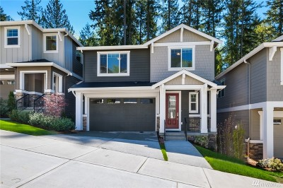 Sammamish Single Family Home For Sale: 22319 SE 43rd (Lot 15) Place