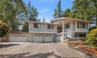 Bellevue Single Family Home For Sale: 843 132nd Ave NE
